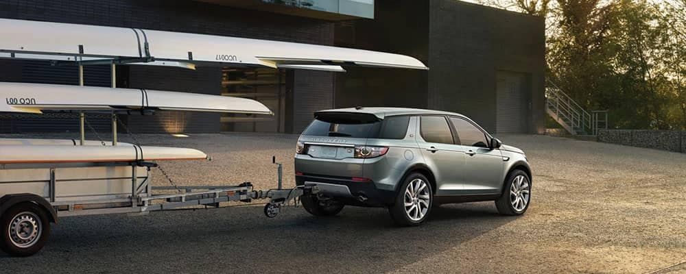 2018 Land Rover Discovery Sport Towing Banner