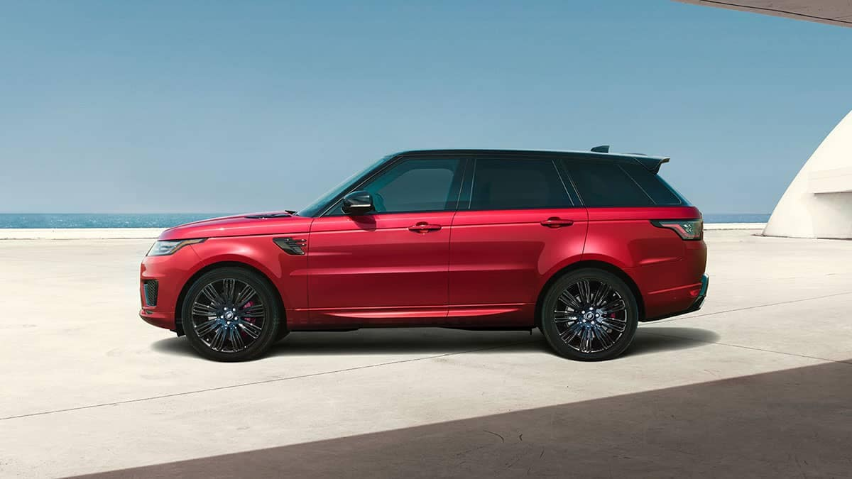 2019 Land Rover Range Rover Sport Side Profile