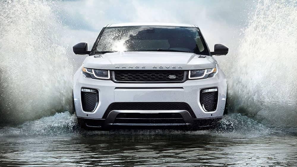 2019 Range Rover Evoque Driving Through Water