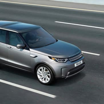 2019 Land Rover Discovery Driving on the Highway