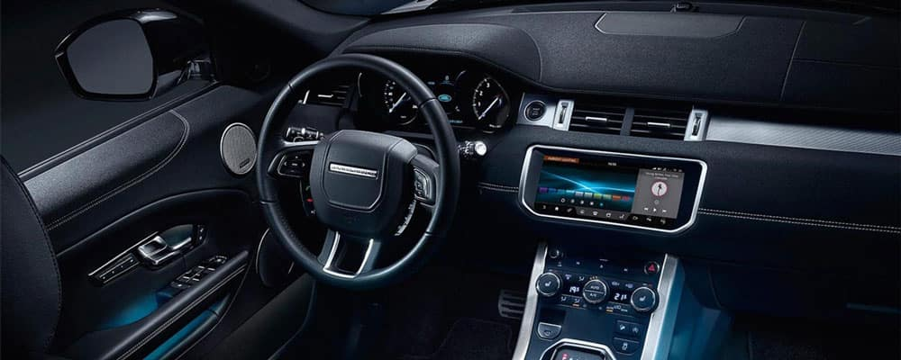 2019 Land Rover Evoque Dashboard