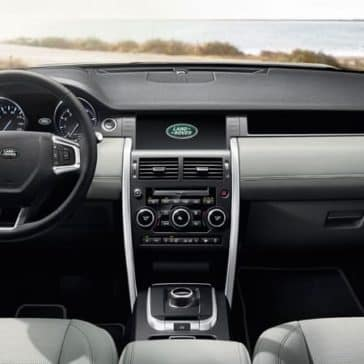 2019 Land Rover Discovery Sport Interior Dashboard
