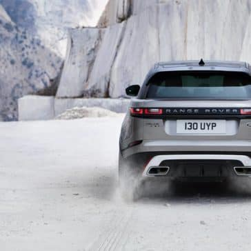 2019 Land Rover Range Rover Velar Driving in Snow