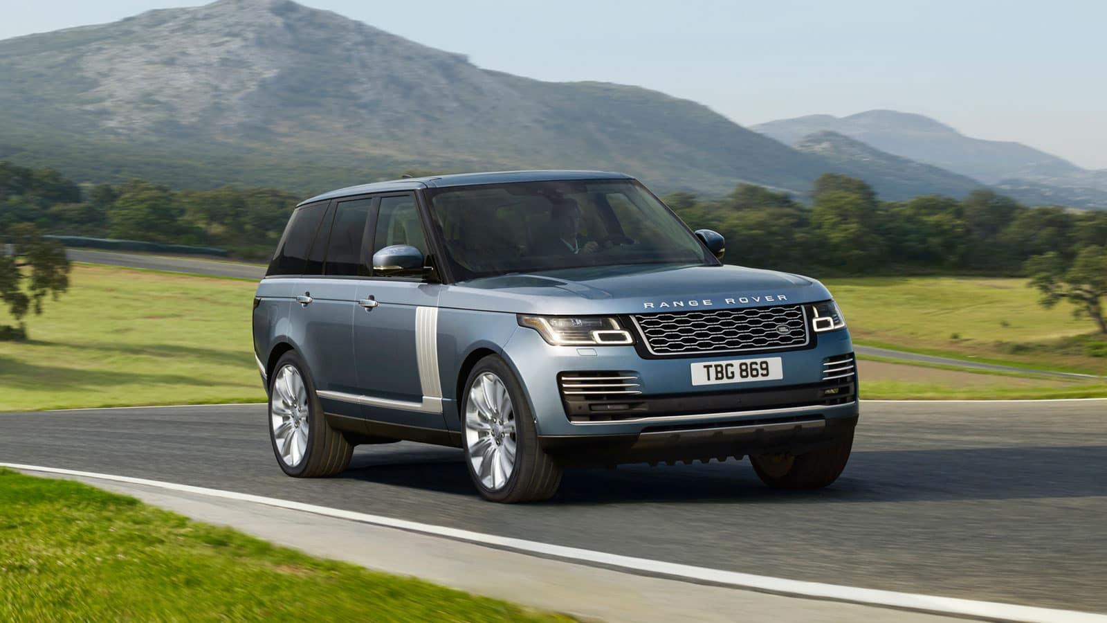 2019 Range Rover road