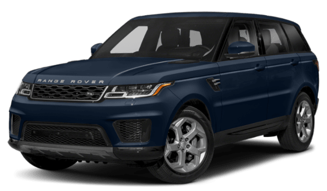 2019 range rover sport blue comparison
