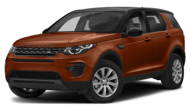 2019 land rover discovery sport red