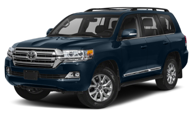 2019 toyota land cruiser blue