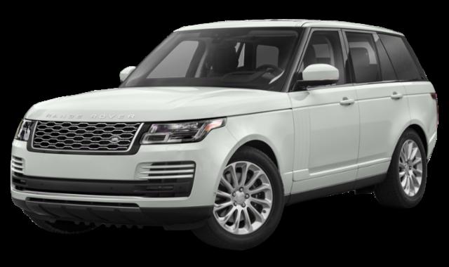 2020 range rover white exterior