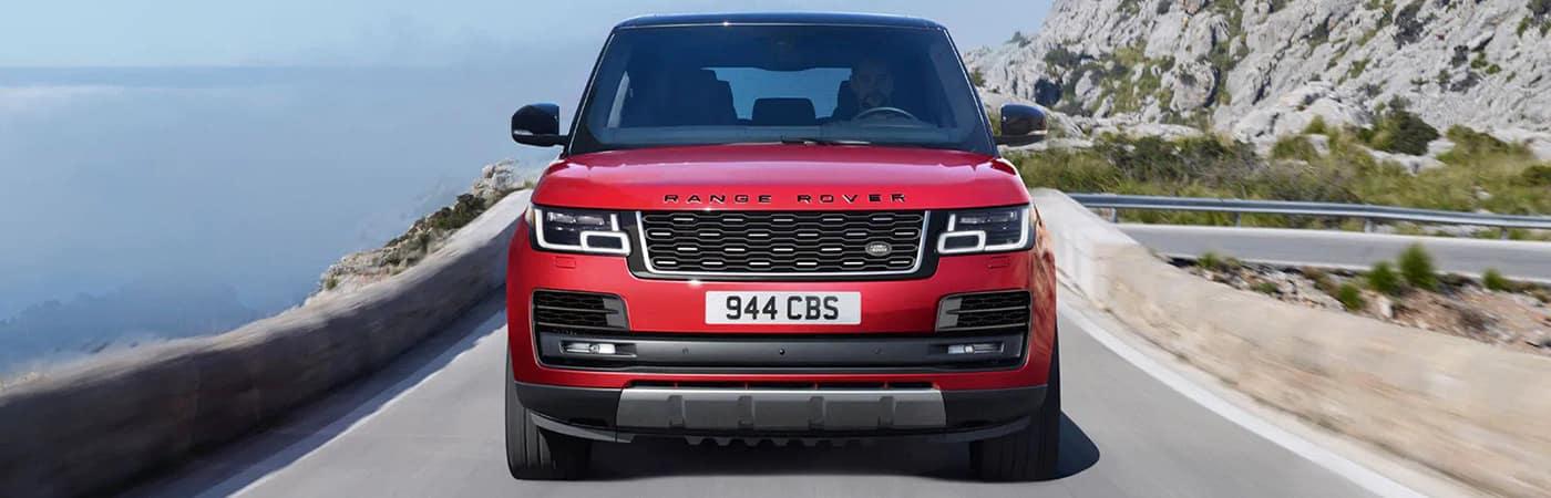 2020 range rover red