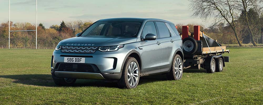 2020 land rover discovery sport tow