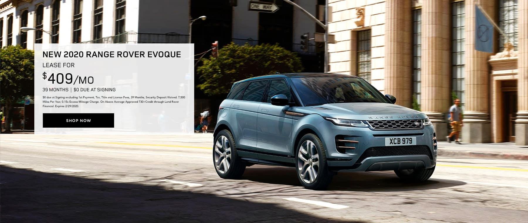 Lease Range Rover Evoque