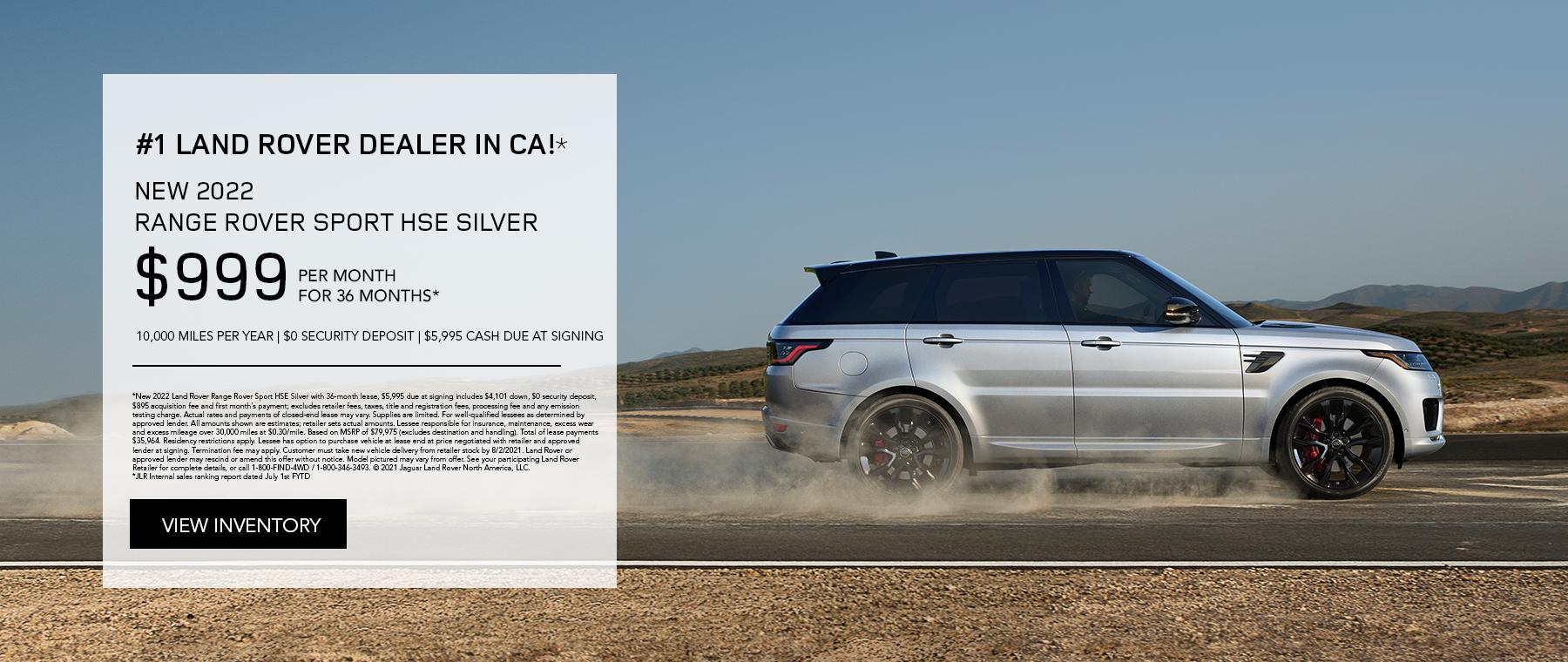 Range Rover Sport HSE!