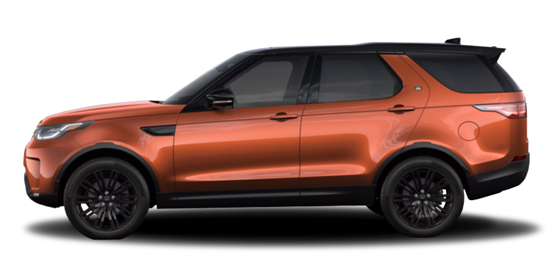 Land Rover Discovery Orange