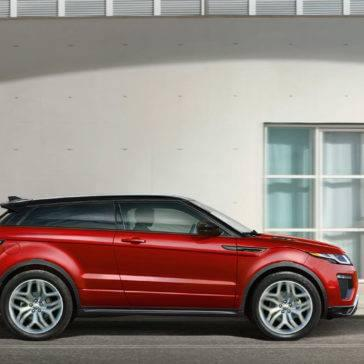 2017 Land Rover Range Rover Evoque red exterior model
