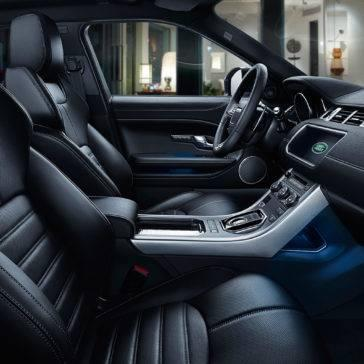 2017 Land Rover Range Rover Evoque front interior seating