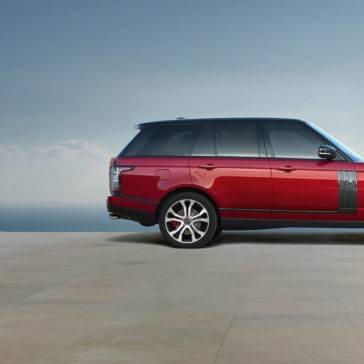 2017 Land Rover Range Rover red exterior model
