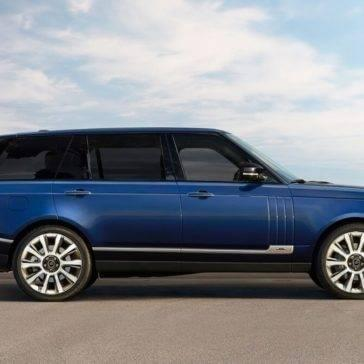 2017 Land Rover Range Rover blue exterior model