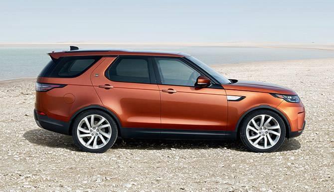 2017 Range Rover Discovery Orange