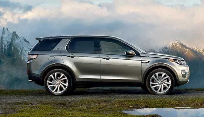 2017 Range Rover Discovery Sport Silver