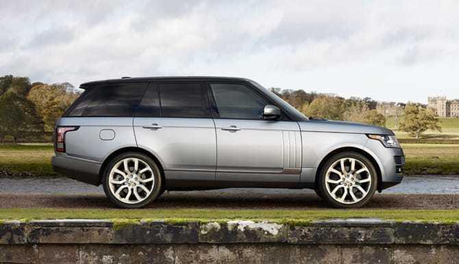2017 Range Rover Silver