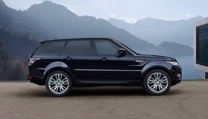 2017 Range Rover Sport Side