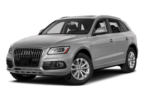 2017 Audi Q5 white background