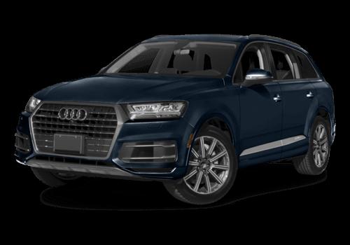 2017 Audi Q7 white background