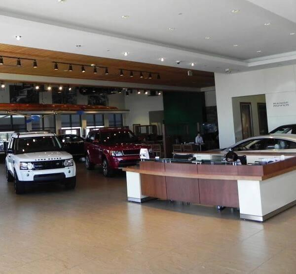 Land Rover North Scottsdale Dealership Interior