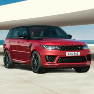 2018 Range Rover Sport red exterior