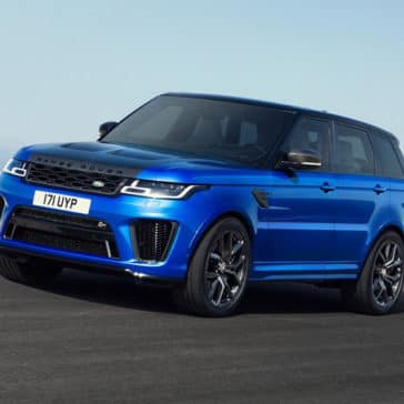 2018 Range Rover Sport blue exterior