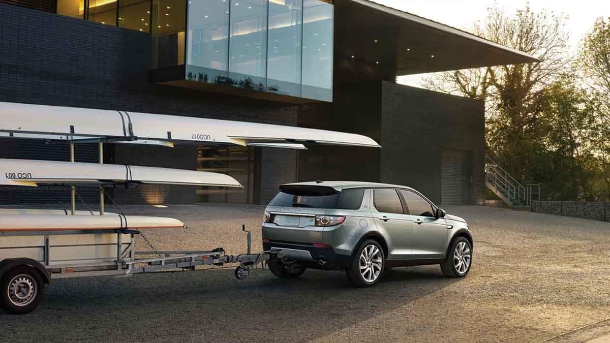 2018 Land Rover Discovery Sport exterior