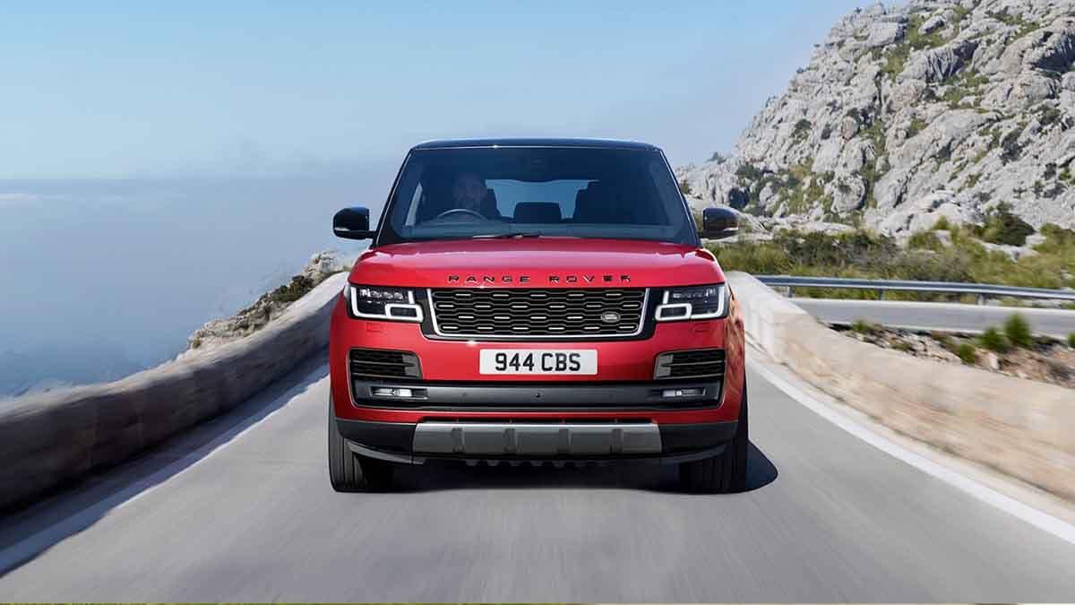 2018 Land Rover Range Rover front exterior