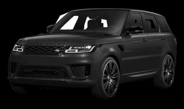 2018 Land Rover Range Rover Sport white background