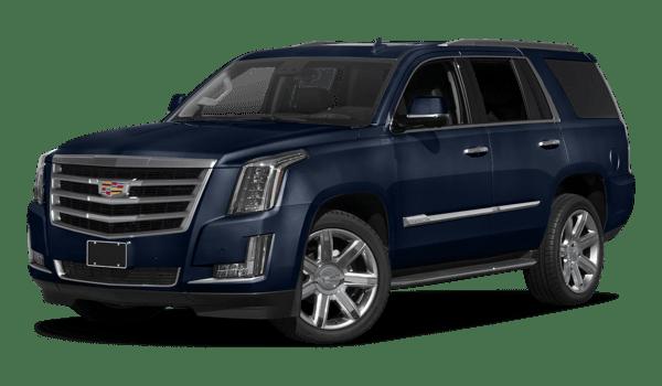 2018 Cadillac Escalade white background