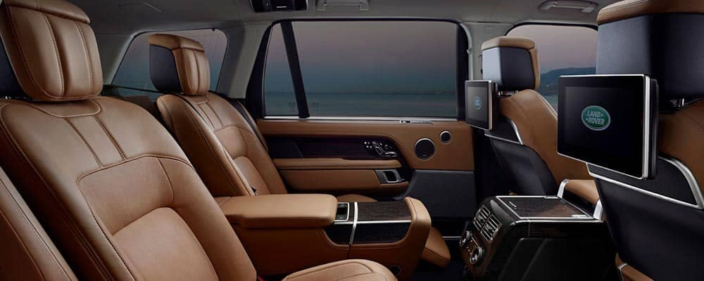 2018 Land Rover Range Rover Leather Seating