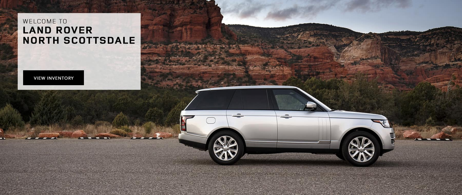 Welcome to Land Rover North Scottsdale Banner