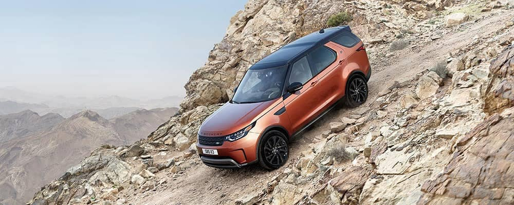 2018 Land Rover Discovery Off Roading