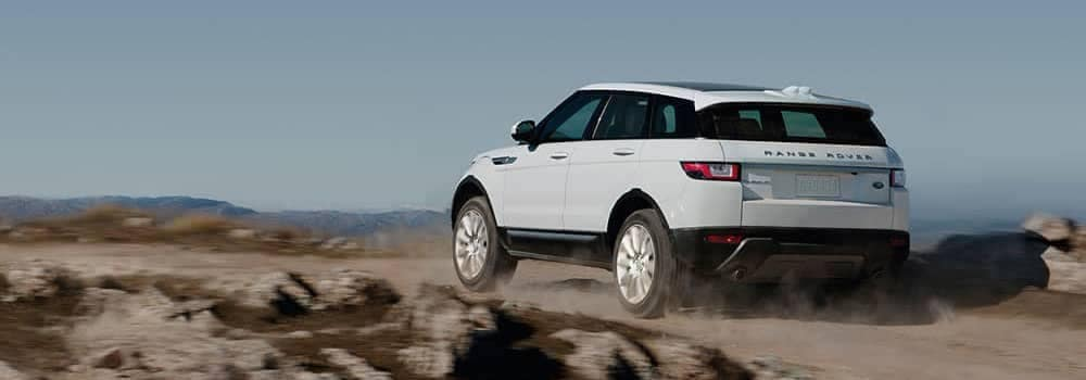 2019 Land Rover Range Rover Evoque Driving