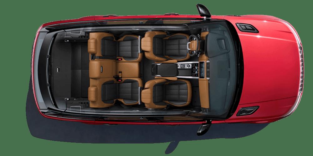 2019 Range Rover Sport Cargo Space