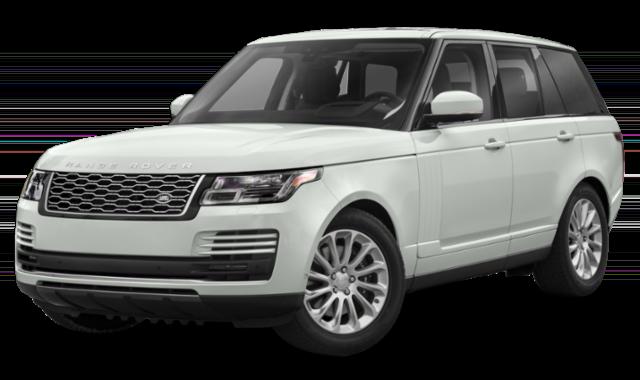 2020 land rover range rover white exterior