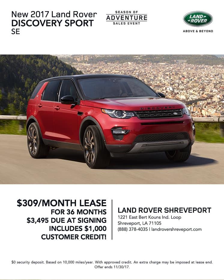 Discovery Sport, Discovery Sport Shreveport, Land Rover Shreveport, Land Rover Specials Shreveport