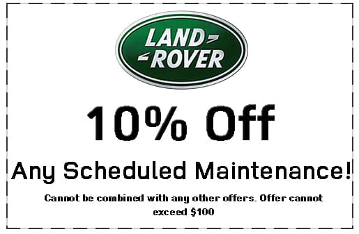 Land Rover Shreveport, Service Specials, 10% off Maintenance