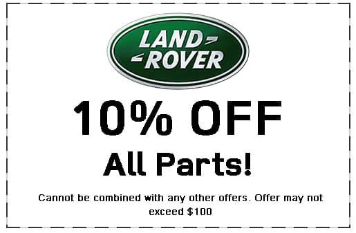 Land Rover Shreveport, Parts Specials