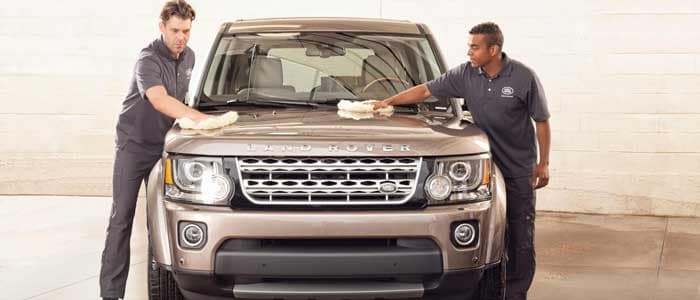 Land Rover Car Wash