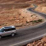 2017 Land Rover Range Rover in the desert