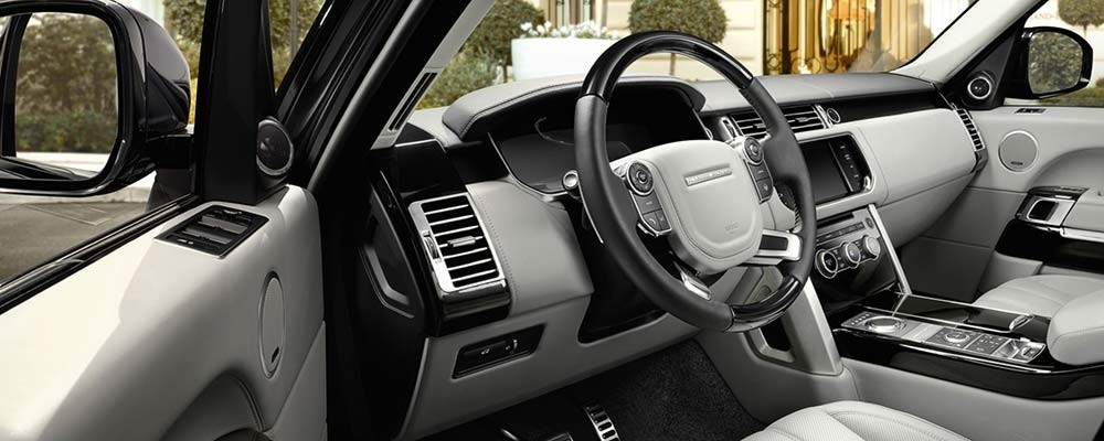 2017 Land Rover Range Rover Interior | Land Rover West Chester