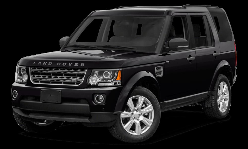 2016 Land Rover LR4 black exterior