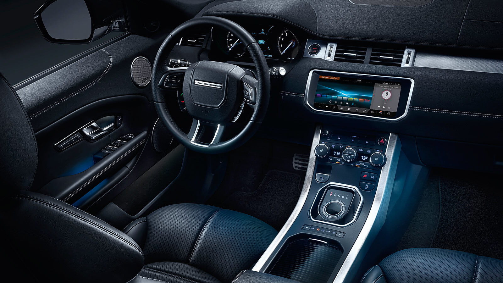 What is land rover incontrol for Interieur evoque
