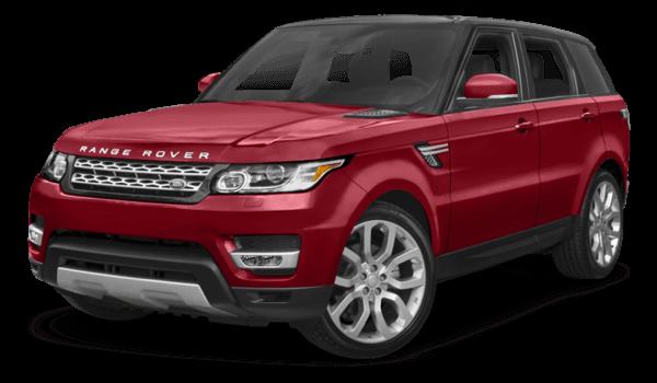 2017 Range Rover Sport red exterior model