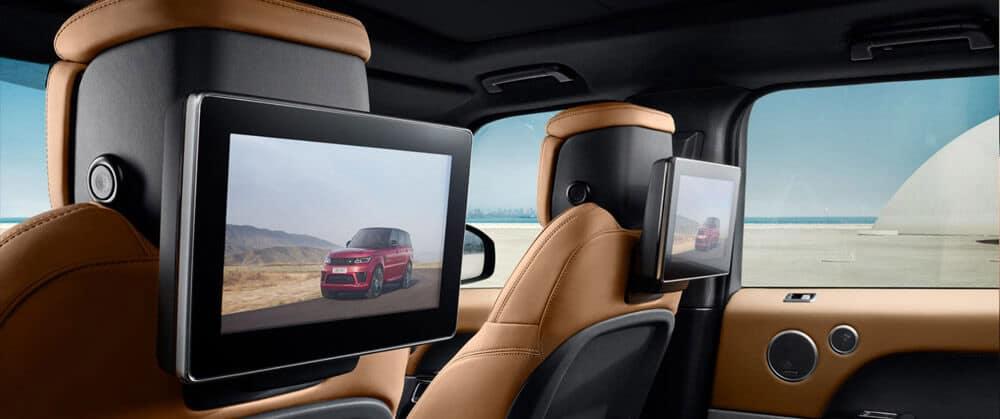 2018 Land Rover Range Rover Sport back seats